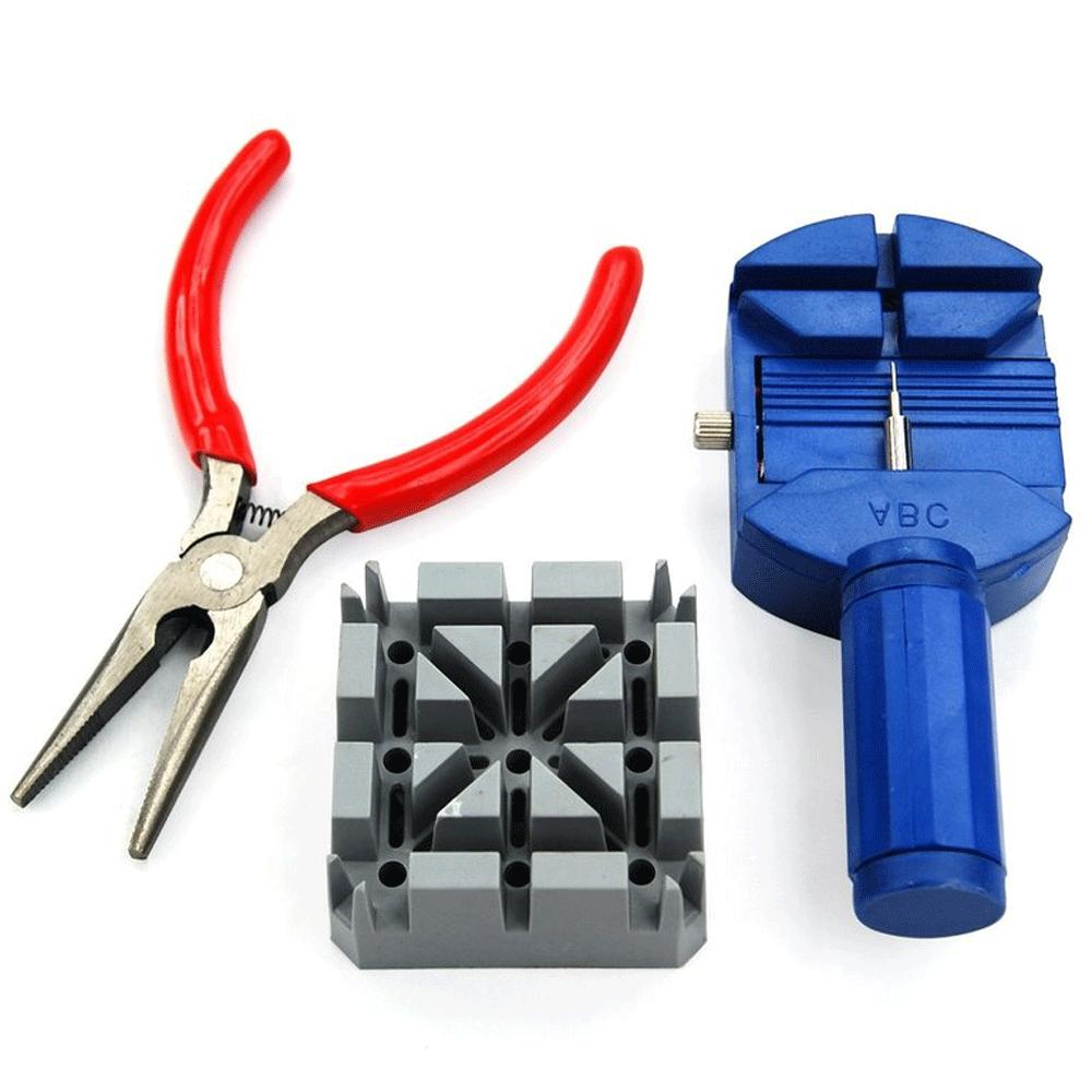 16pcs WATCH Repair Kit Tools Link Remover