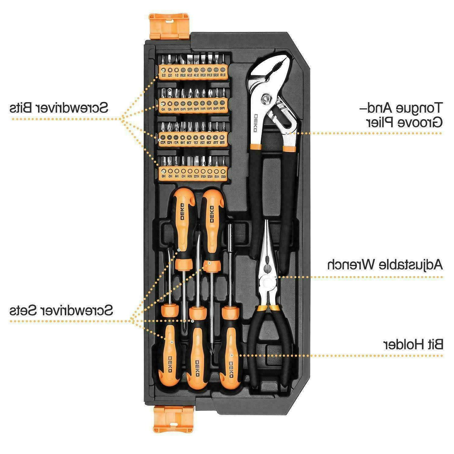DEKO 192 Set Auto Kit Wrench