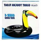 1X FineLife Products Giant Toucan Pool Float Sized Over 4 Fe