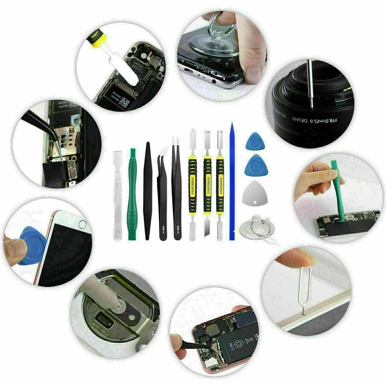 Tools Set iPhone Tablets Cell Phone