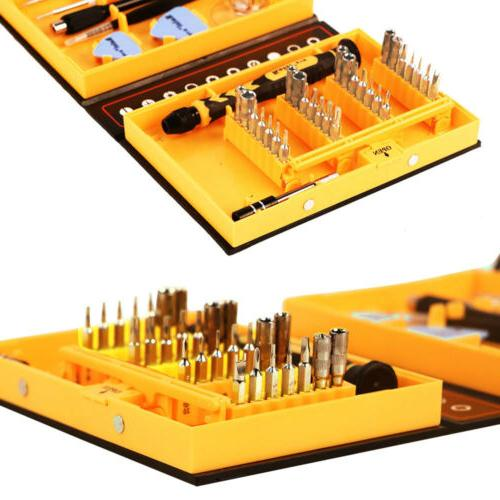 38pc Cell Phone Repair Tool Kit Magnetic Screwdriver Set for Macbook