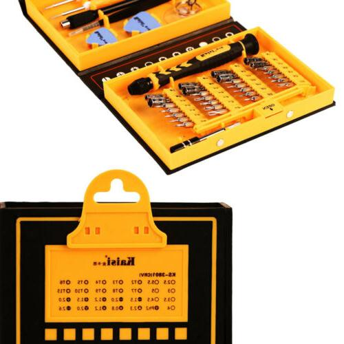 38pc Cell Tool Kit Screwdriver Set ipad Laptop