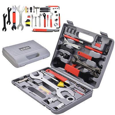 44 PC Multi-Function Bike Bicycle Home Mechanic Tool Repair