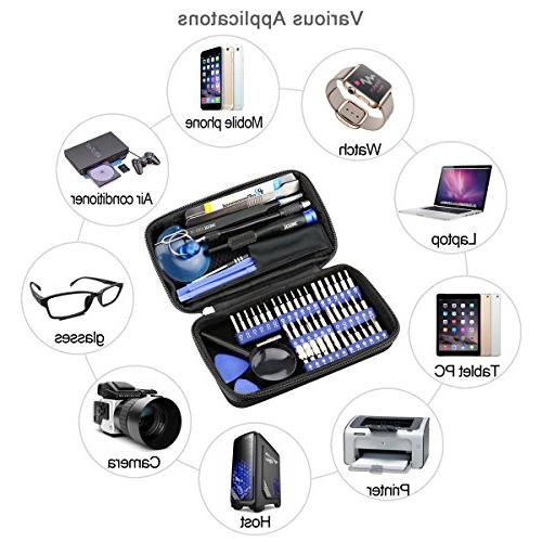 58 in Kit 42 Electronics Kit f with Bag for Repair Cell Phone, iPad, PC, and