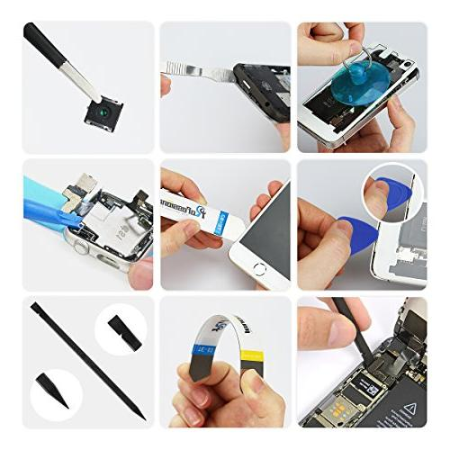 58 1 Precision Screwdriver Driver Kit with 42 Electronics f Bag for Repair Cell Phone, iPad, and Other