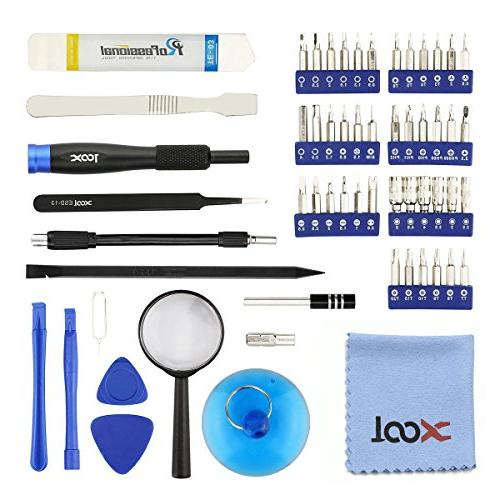 58 in 1 Precision Screwdriver Kit 42 Bits,Professional Electronics Repair f with for Phone, and Other