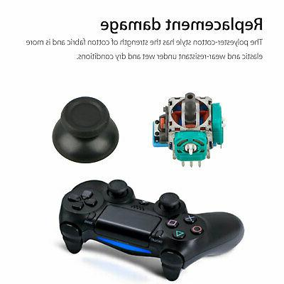 5Pack Thumb Joystick Repair Sony PS4 Slim /