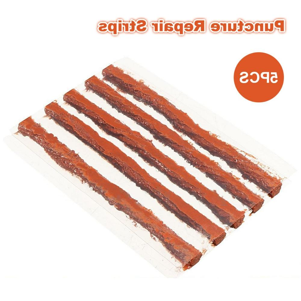 5PCS Puncture Repair Strip Auto Motorcycle Tire Tyre <font><b>Plug</b></font> Repair Tool