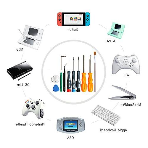 E.Durable Nut Driver Set Tool Kit Switch, Wii/Wii