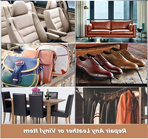 Leather Kit - Furniture, Couch, Car Purse, Belt, Genuine, Italian, Bonded, PU, Required | Restore