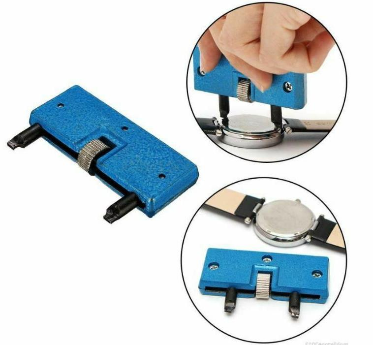 Adjustable Rectangle Watch Case Wrench Kit Tool