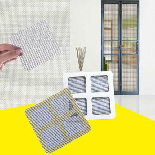 Anti-Insect Fly Bug Mosquito Door Window Net Repair Screen Patch Kit