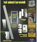 ARMOR Door Security Jamb Repair Kit Prevent Break-ins Hinge