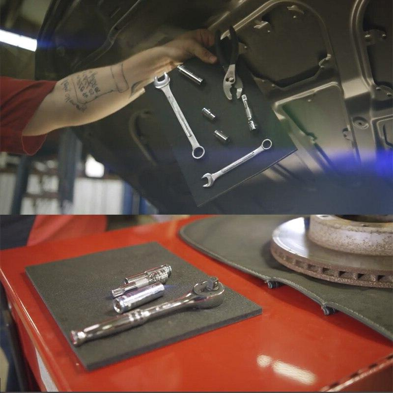 Car <font><b>Kit</b></font> Strong Pad Holds While Working <font><b>Repair</b></font> Tool Storage