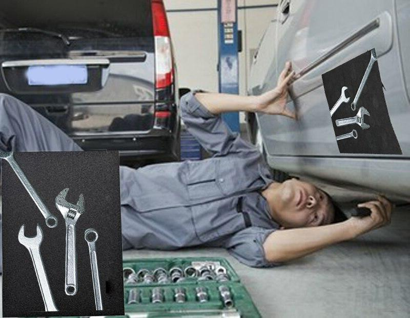 Car <font><b>Repair</b></font> Strong Magnet Pad Your While Working Storage