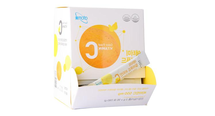 colorfood vitamin c 2g x 90packet 180g