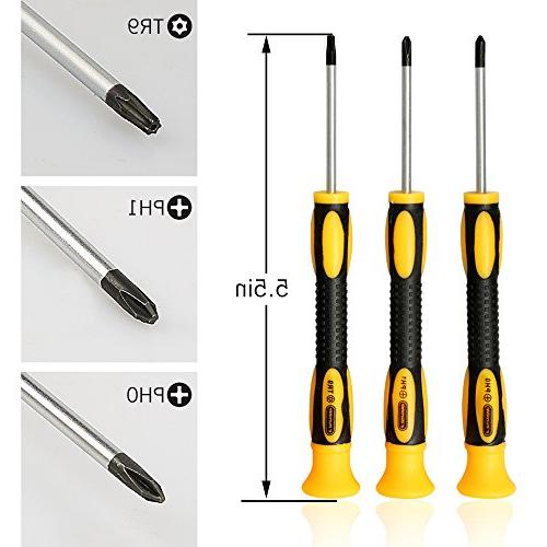 E.Durable Screwdriver Repair for Sony PlayStation - Screwdriver T9 PH1