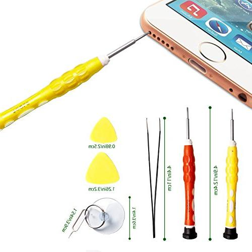 Computer Cellphone Kit, Screwdriver Set, IN 1 Professional for iPhone/ Tablet/ Laptop/ Camera/ Toy/ Devices
