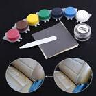 DIY Leather Vinyl Repair kit for Car Seat tears,rips,holes n