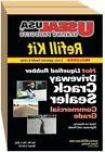 Driveway Crack Sealer Refill Kit Repair Commercial Grade Dri