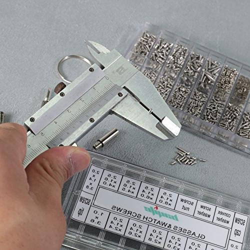 bayite Kit with Screws Screwdriver Nuts Assortment