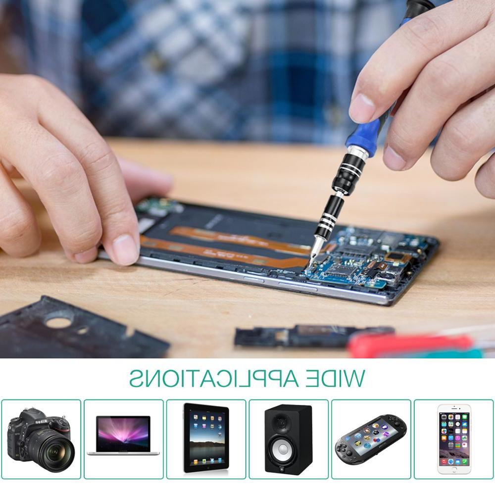 <font><b>ORIA</b></font> Precision Screwdriver Set 64 in Driver Portable Tool for Phone PC