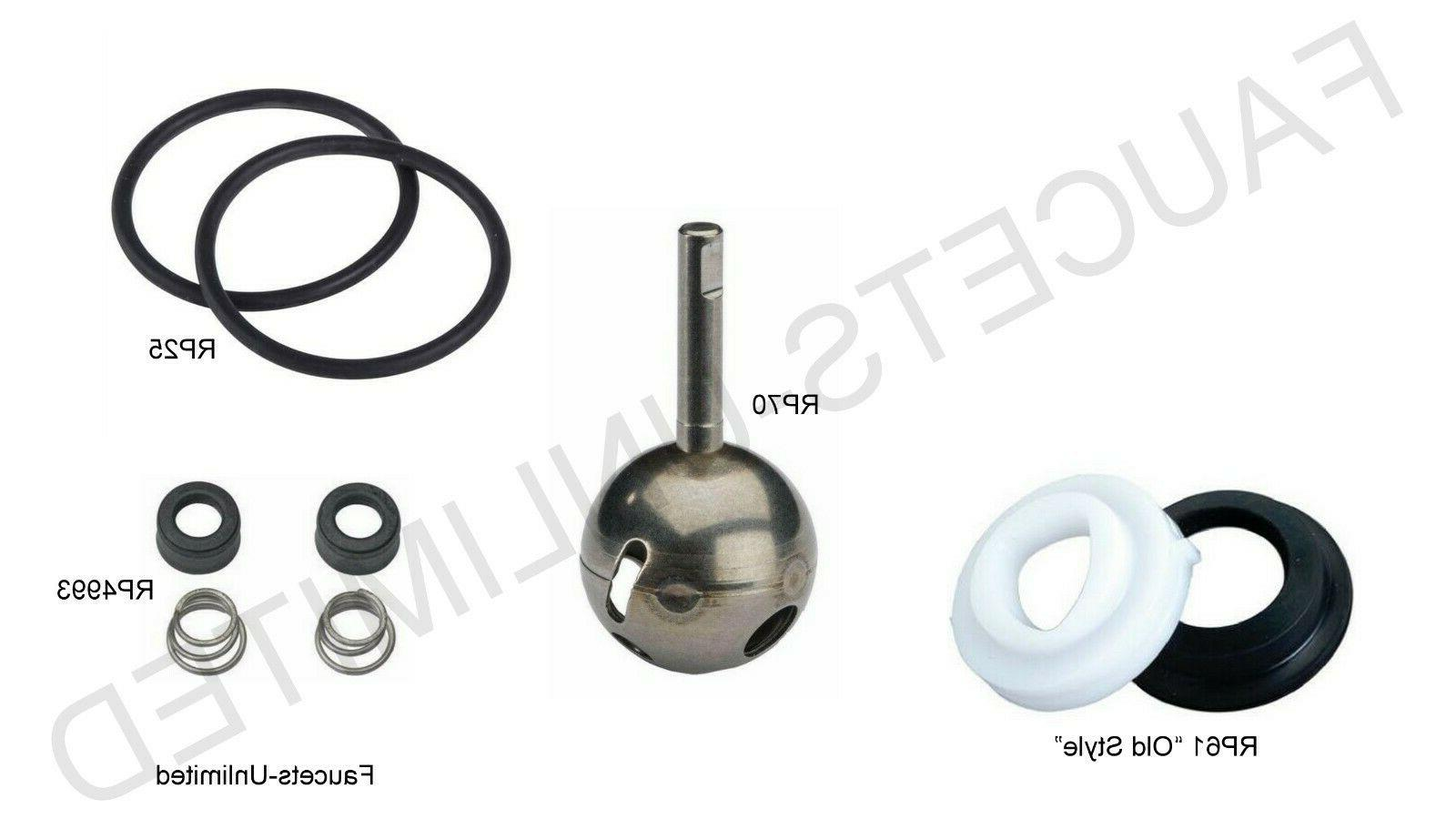 genuine kitchen faucet repair kit ball seats