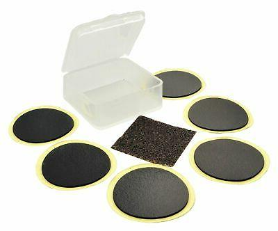 Lumintrail Glueless Self-Adhesive Bike Tire Puncture Patch Kit