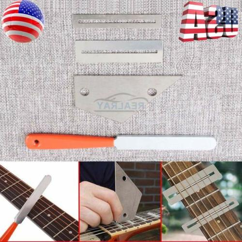 Guitar Crowning Luthier File Leveling Grinding Tool Kits Guitar
