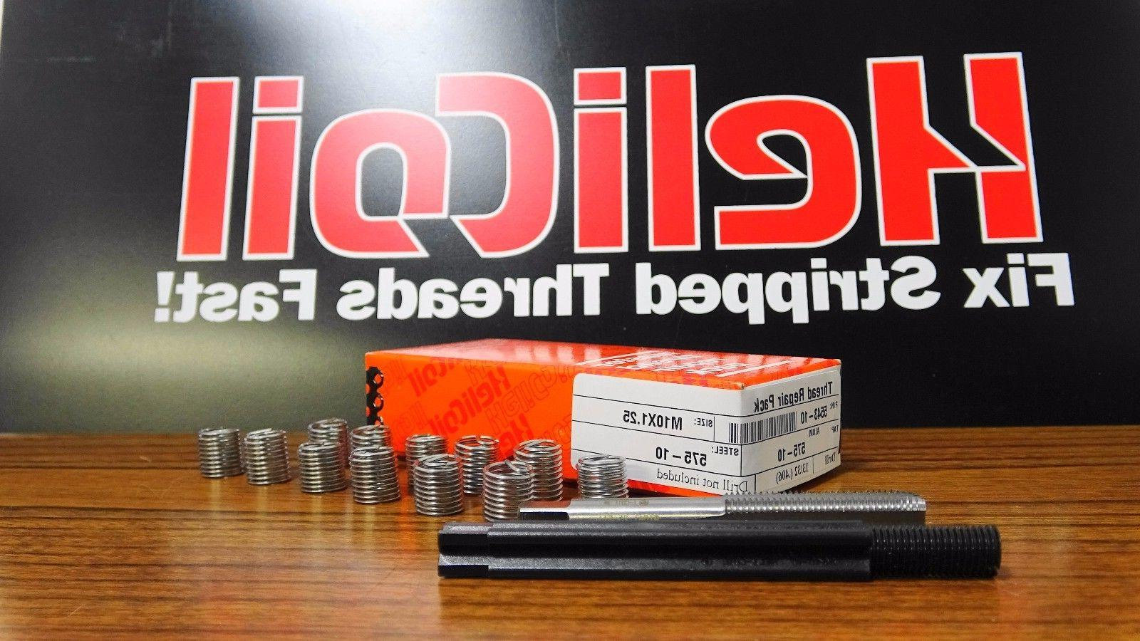 Helicoil Repair M10 x 1.25 15. With 12 Stainless