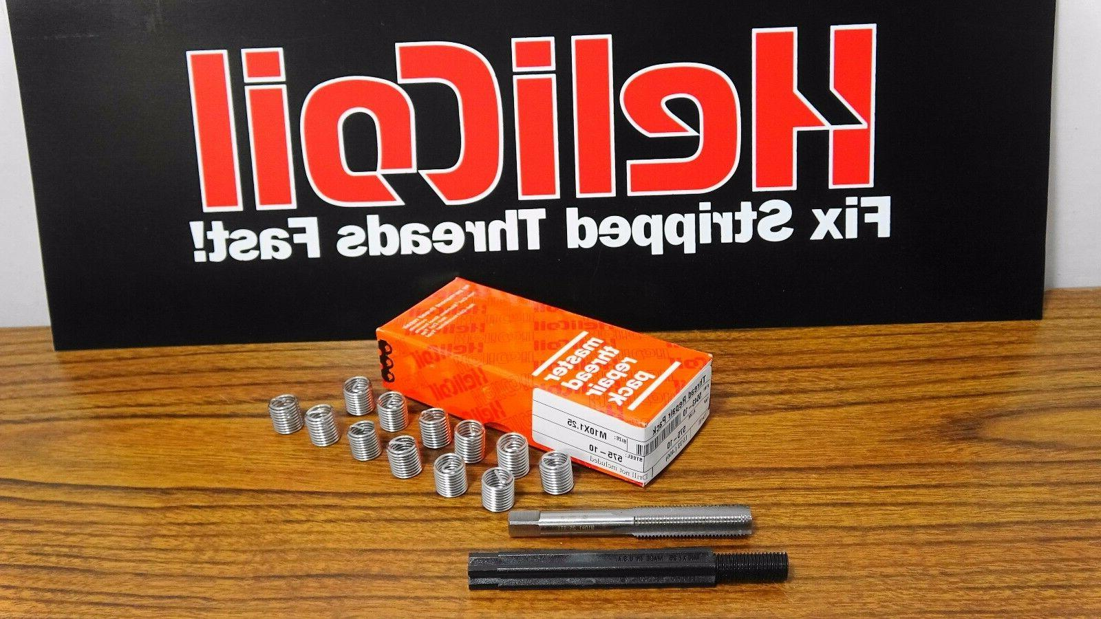 Helicoil Thread M10 x 15. With U.S Stainless Inserts