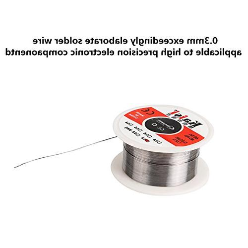 Kaisi with Magnifying 0.3mm Solder Tip Ball Solder 3 for Electronics Projects, Hobby
