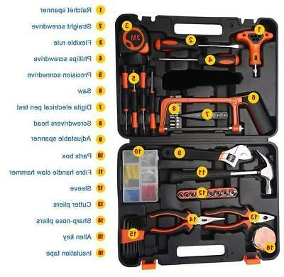 Household tool-kit essential case All-in-one portable tool-box Repairing DIY