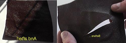 Leather Color, No-Heat, Professional Leather Furniture, Car Seats, Jacket, Boots and Solution