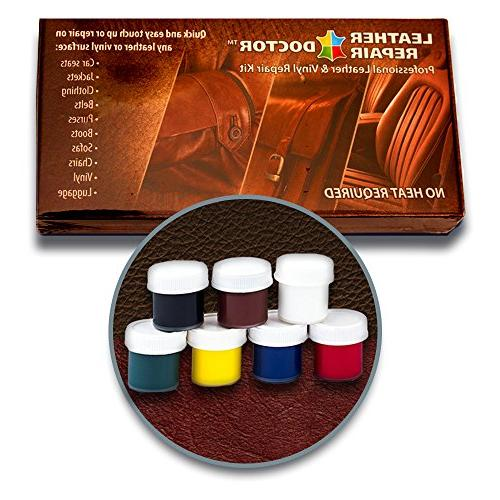 Leather Repair Color, Professional Leather and Furniture, Car Seats, Boots Solution