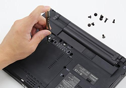 XOOL Notebook Screw Kit, Head Replacement for Lenovo, Sony, Self-Locking Free