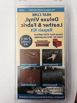 Leather Liquid And Vinyl Repair Kit Furniture Car Seat Heat
