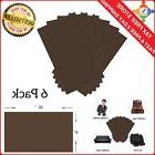 Leather Repair Kit Brown Filler Restorer Seat Car Couch Sofa