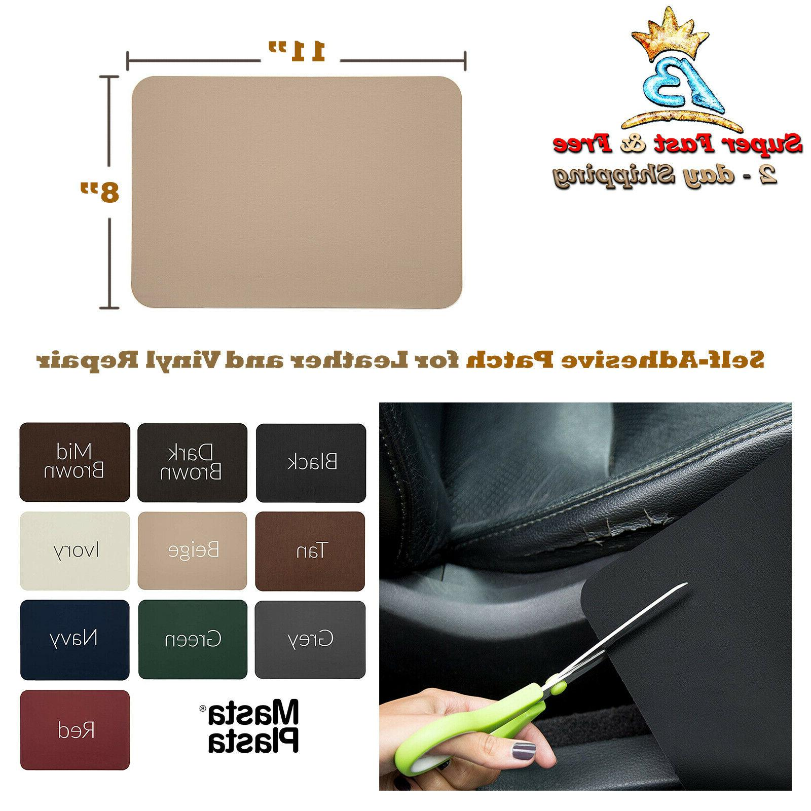 leather vinyl repair kit patches patch self