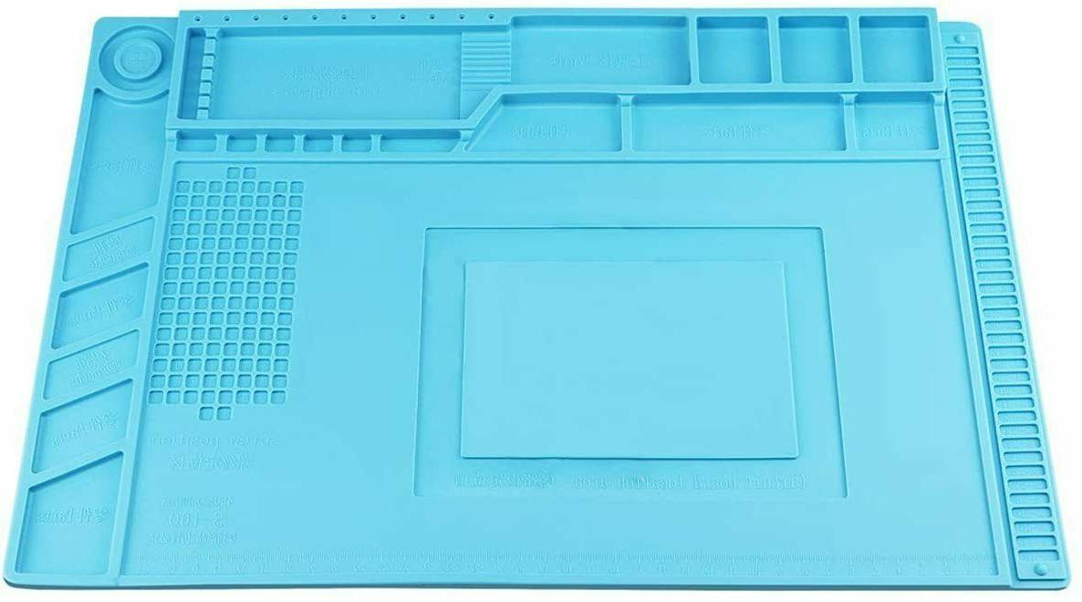 magnetic heat insulation silicone mat