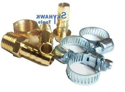 new 3 8 air hose repair kit