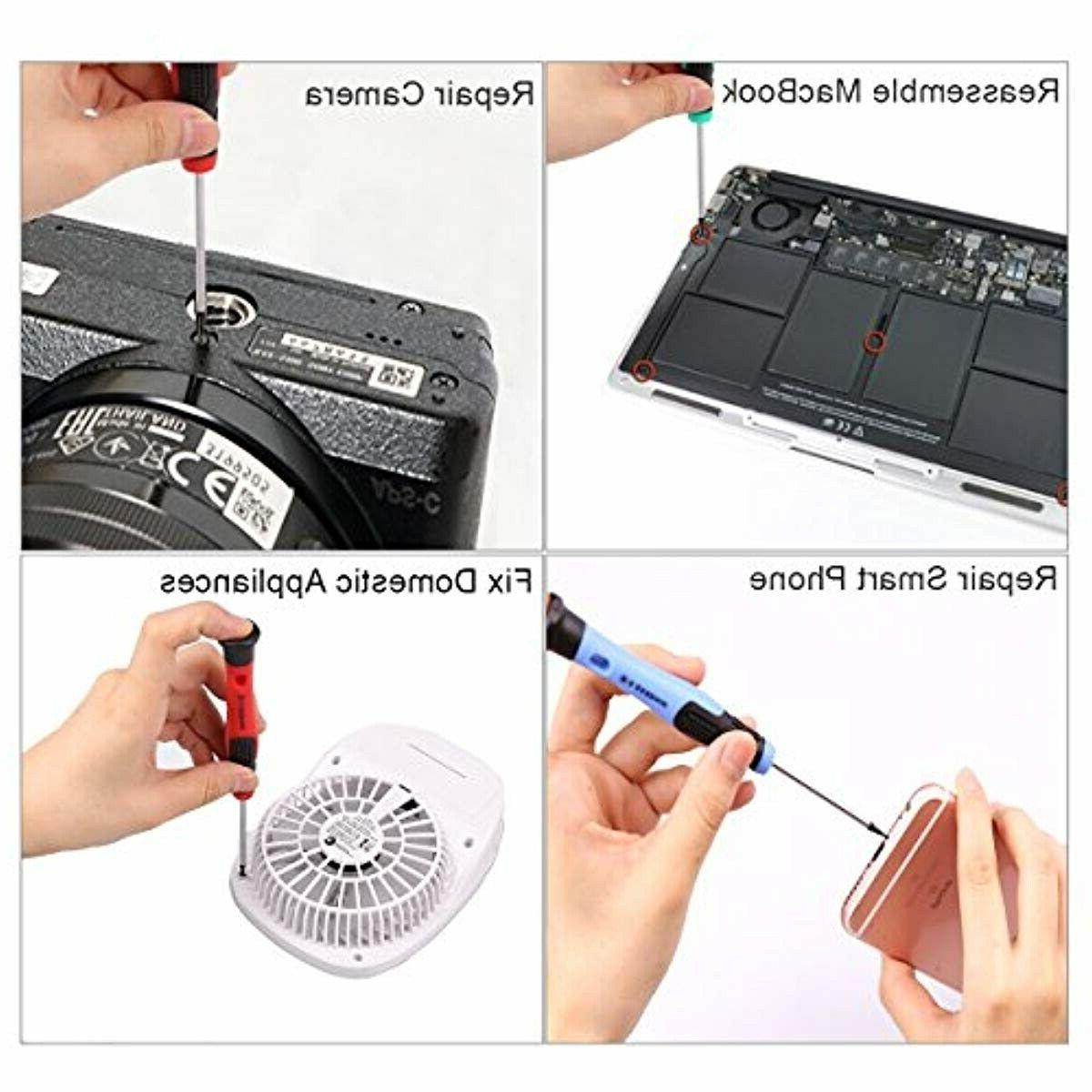 New 33 PCS Screwdriver Set Precision Repair Tool Kit Elec mac,,