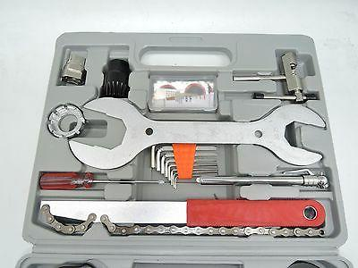 New 44 PC Bike Tool Repair Box US