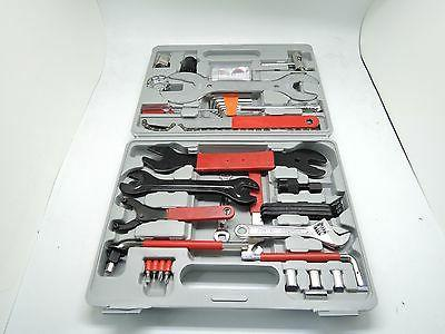 New 44 PC Bike Mechanic Tool Box US