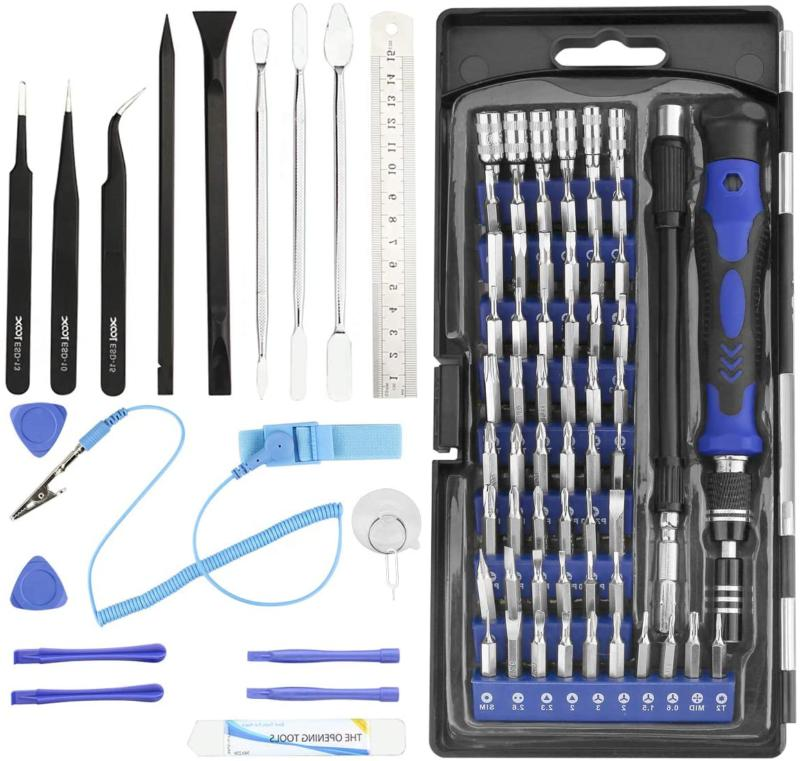 precision screwdriver set 80 in 1 magnetic