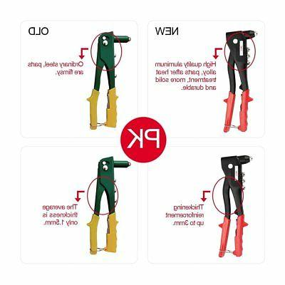 Professional Pop Kit 60 Metal Rivets Wrench Grade