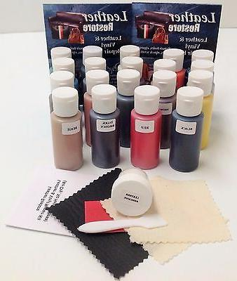 Leather Kit READY USE Color, BLACK