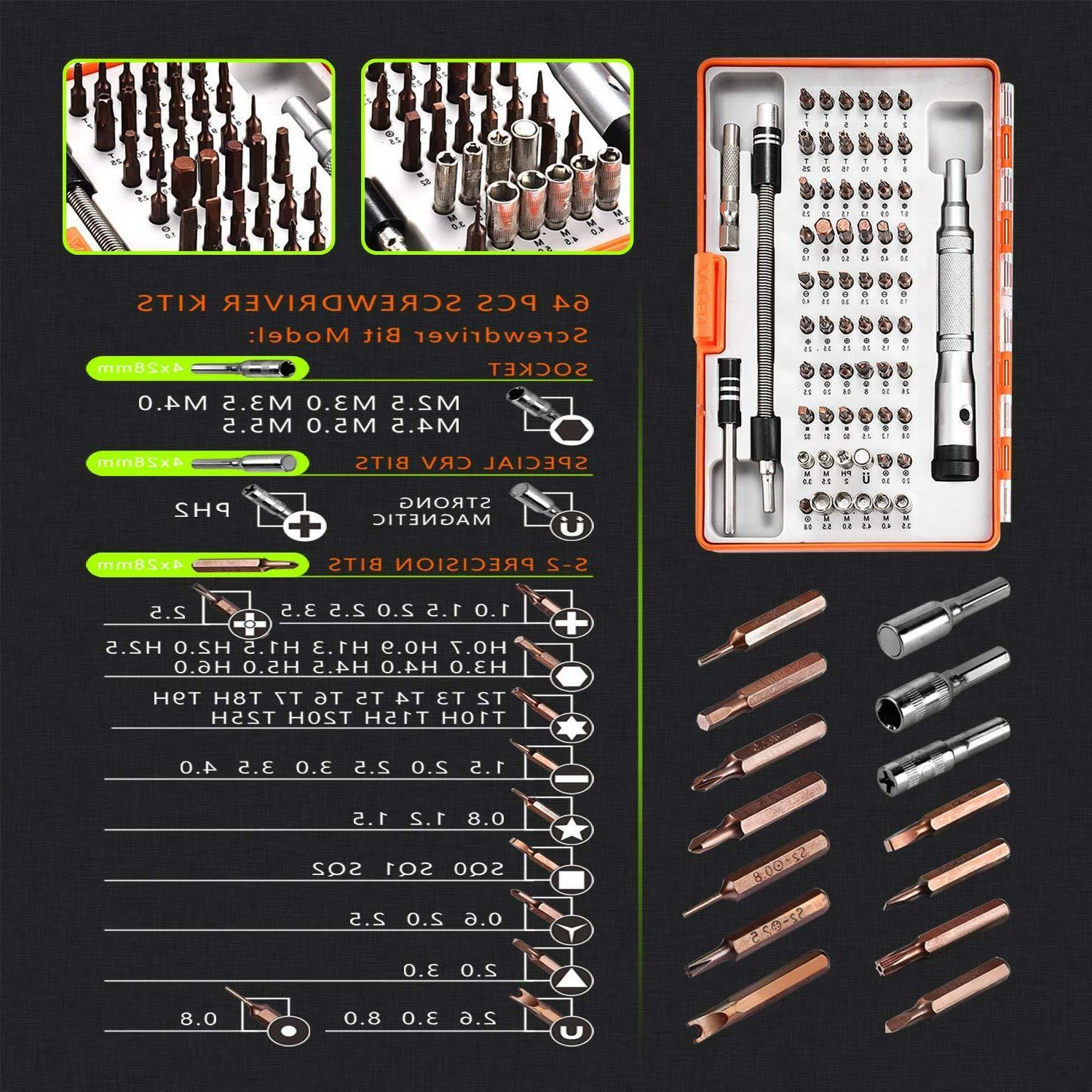 Repair Tool Kit Technician Case Precision Computer