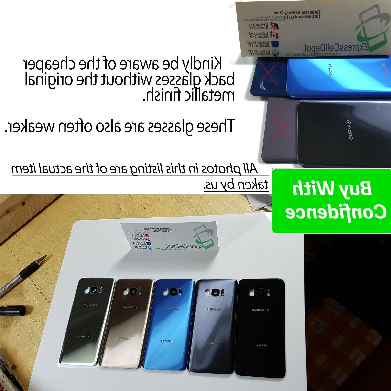Front Screen Back Glass Replacement for Samsung Galaxy