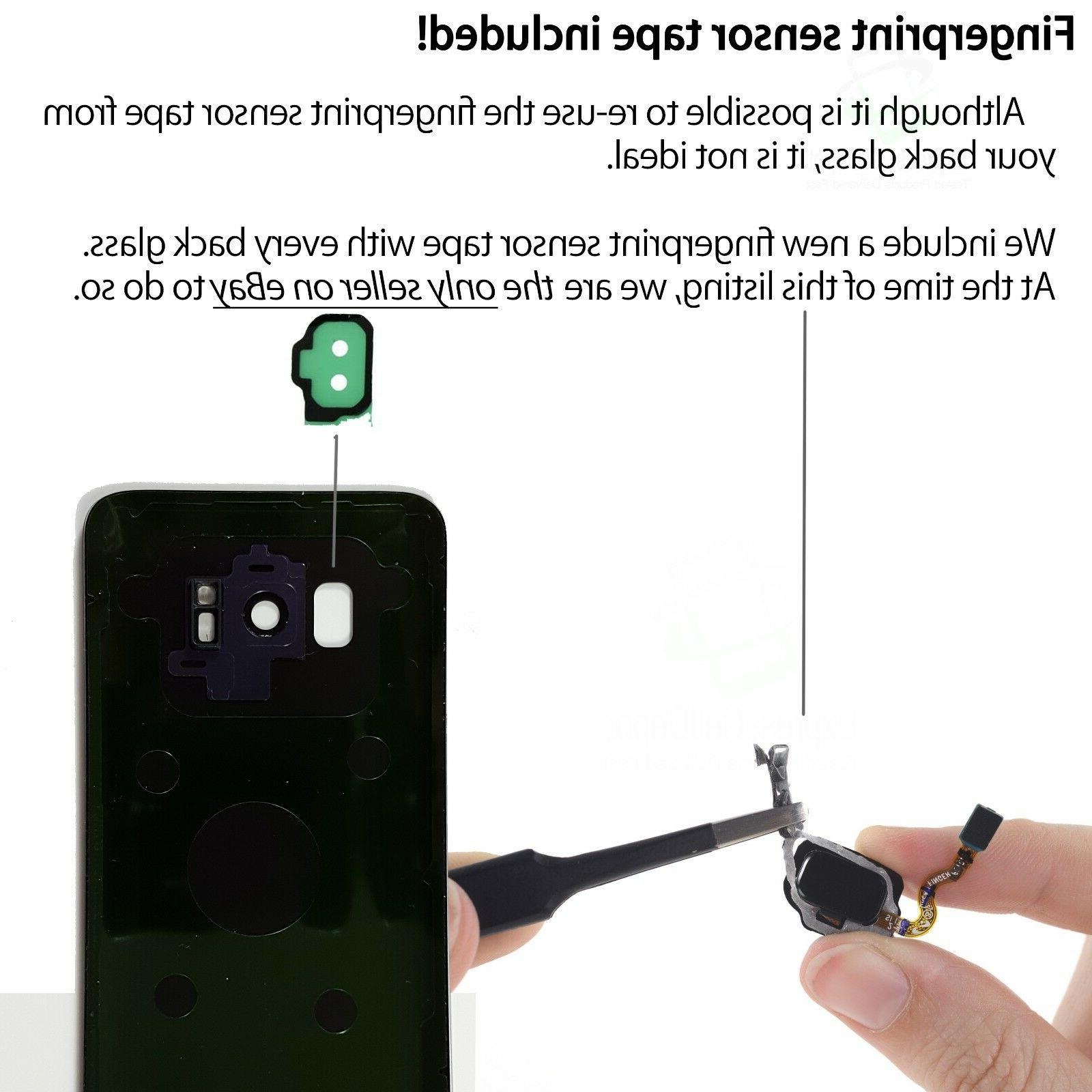 Front Lens Glass Repair for Samsung Galaxy S8/S8+